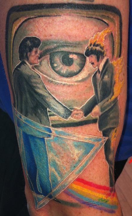 Best Pink Floyd Tattoos part I26
