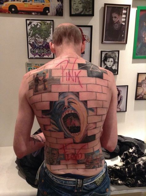 Best Pink Floyd Tattoos part I7