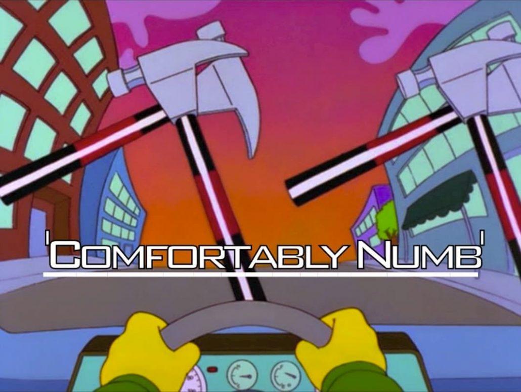 Pink Floyd on Simpsons 8