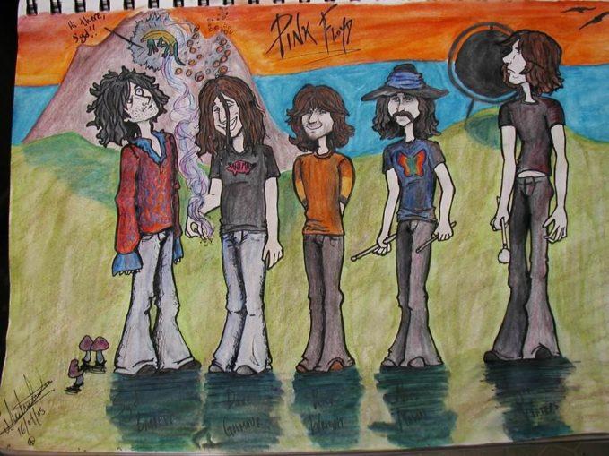 Pink Foyd Drawings 22