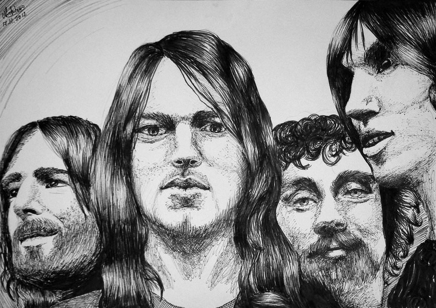 The 30 Best Pink Floyd Drawings And Artworks