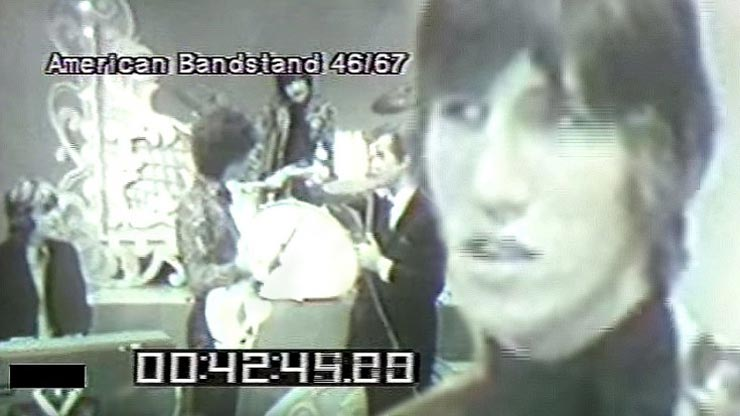 First U.S. Appearance of Pink Floyd On American Bandstand