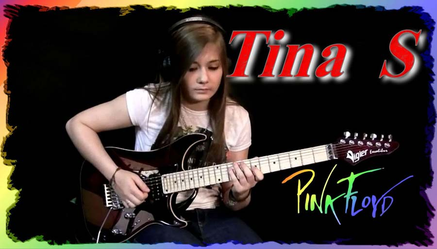 Comfortably Numb Solo played by Tina S (15 Years Old Girl)