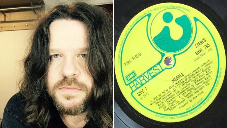 Man Buys Pink Floyd's 'Meddle' Vinyl and He Gets Startling Surprise