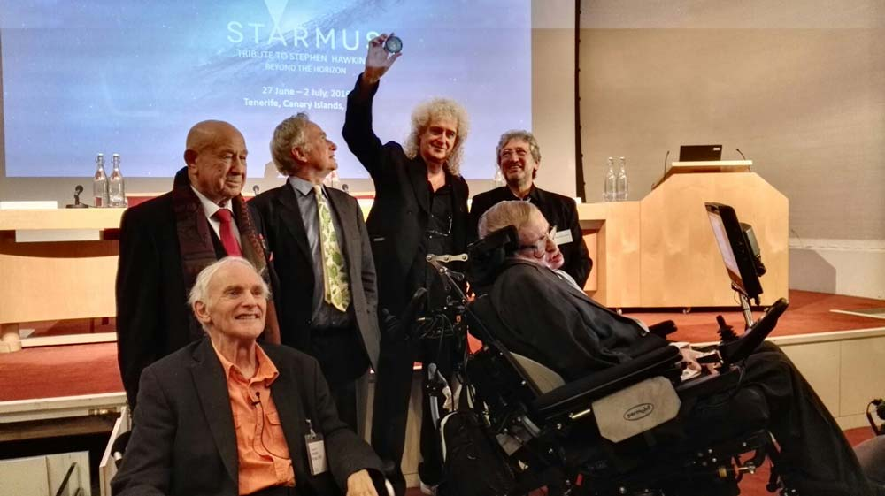 Keep Talking Live Performance with Stephen Hawking, Such a huge honour!
