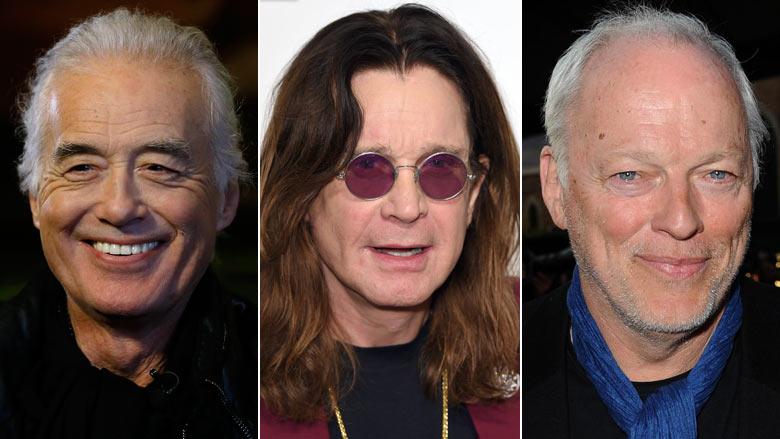 The Beatles, Black Sabbath & Pink Floyd Stars Make Music Rich List
