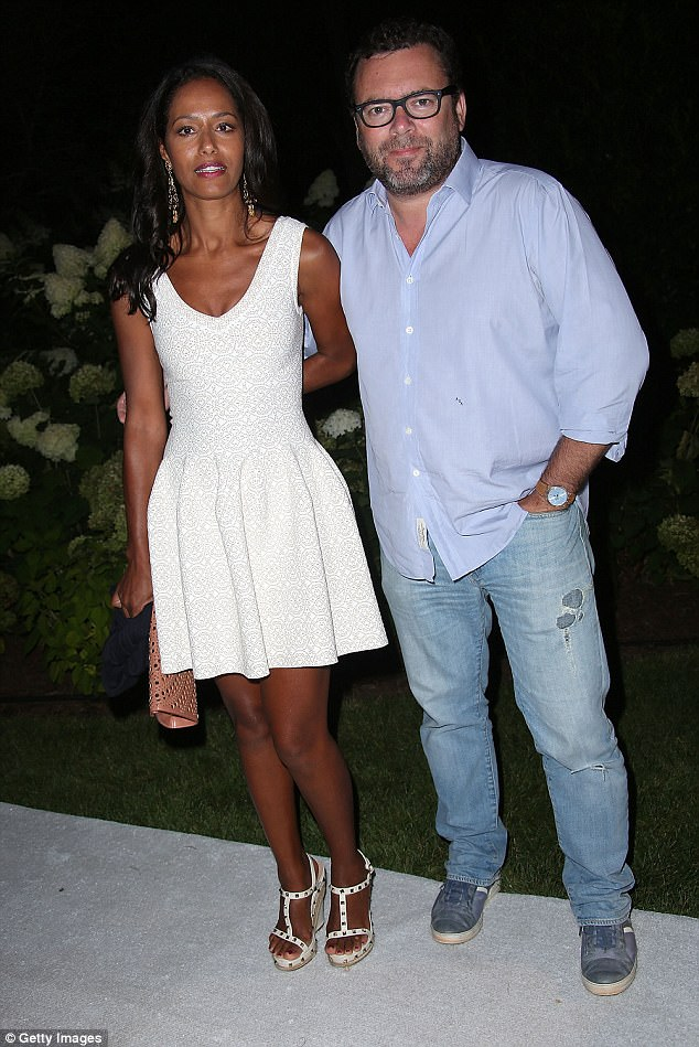 No more: A source claims the two began having an affair after Waters and Durning separated last September, and that Arthur Altschul (above in 2014) left Jebreal when he learned
