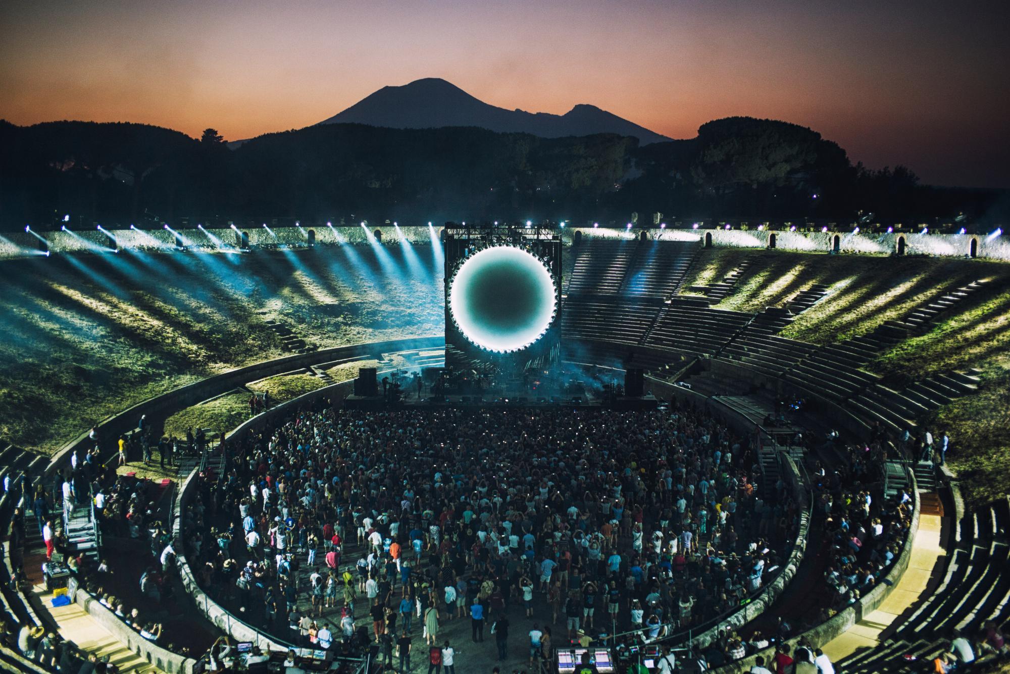 David Gilmour Pompeii Kino