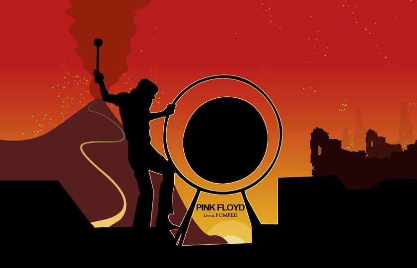 45 Years Ago: Pink Floyd' Legendary Performance at Pompeii