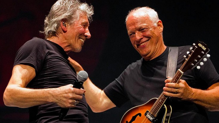 "1 Night Only: Pink Floyd Reunite For Emotional And Riveting Performance Of ""Us And Them"""