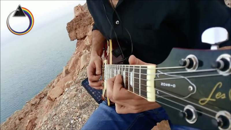 "Watch, Pink Floyd's ""Coming Back To Life"" Cover at DeadSea – Like A Dream!"