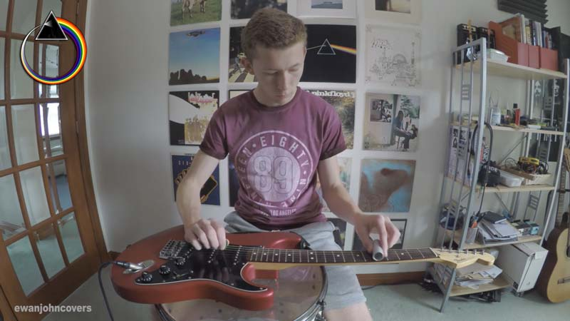 Watch Amazing Cover of Pink Floyd's High Hopes Slide Guitar Cover