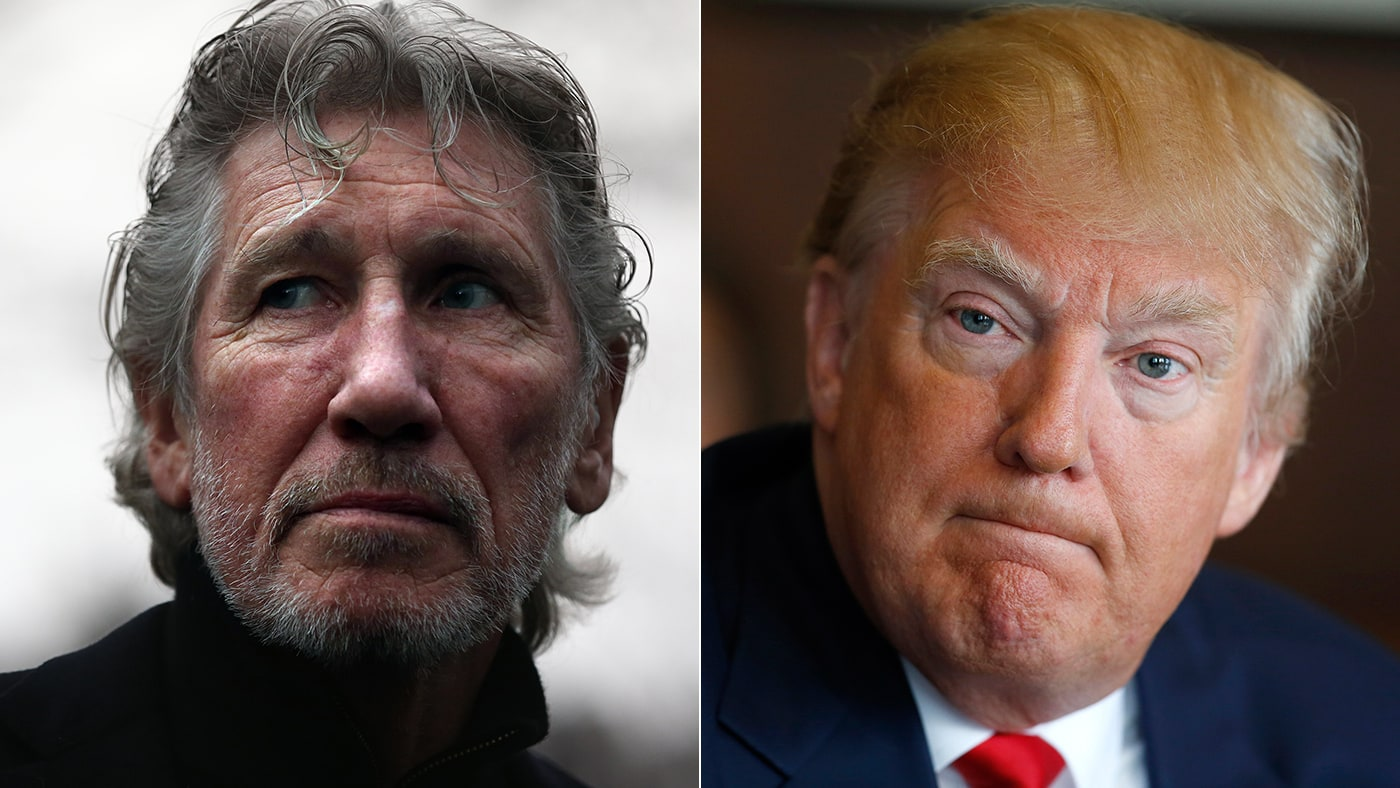 Roger Waters Says for Donald Trump: 'He Is Pig-Ignorant'