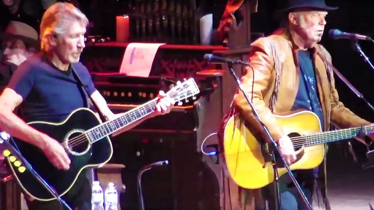 Neil Young And Roger Waters Hit The Stage Together For Amazing Tribute To Bob Dylan