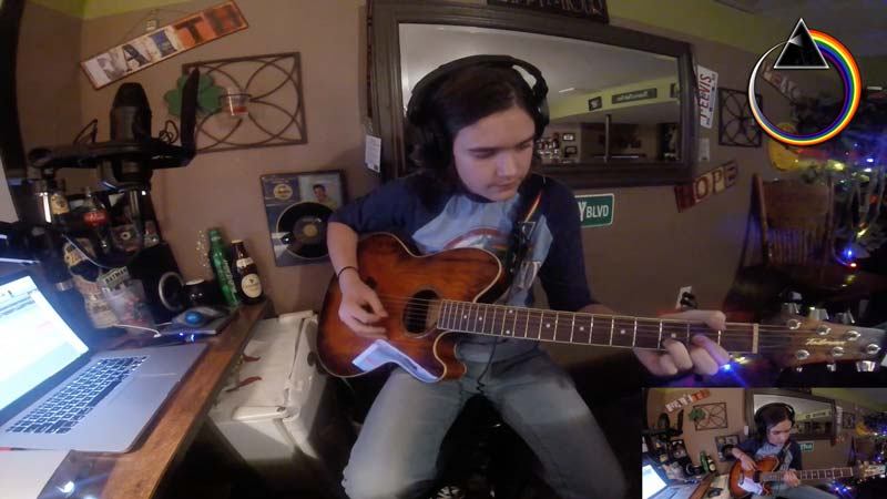"""Watch, Young Pink Floyd Fan's Amazing Cover of """"Brain Damage"""""""