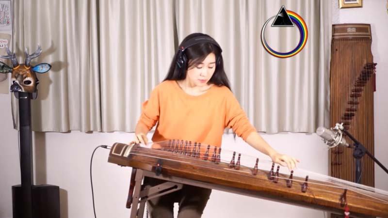 "Watch Her ""Comfortably Numb"" Gayageum Cover – It Is Amazing And Completely Different"