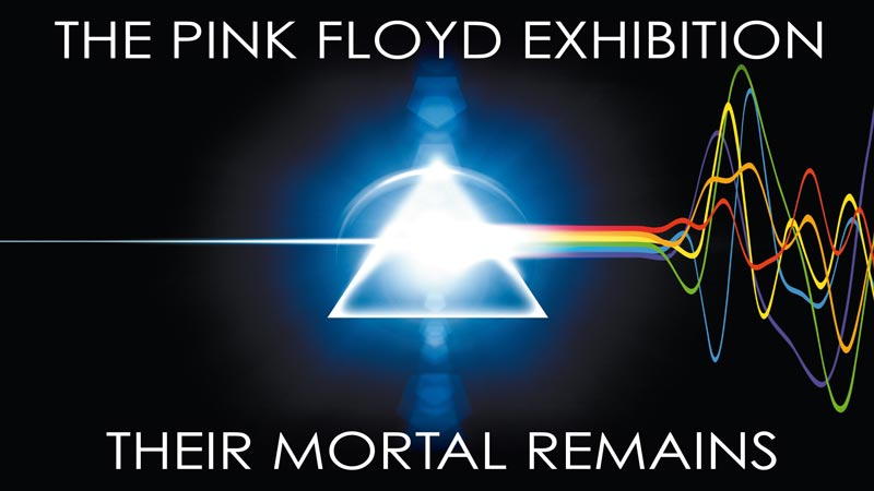 The pink floyd exhibition their mortal remains review a for Pink floyd exhibition