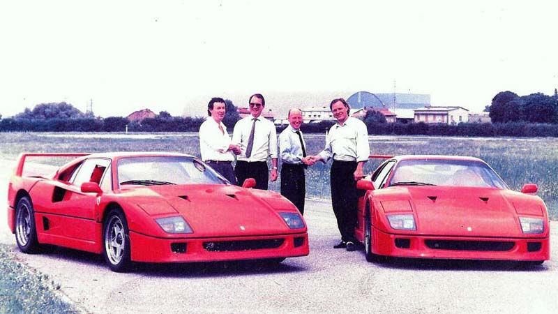 David Gilmour's classic car 200mph Ferrari F40 to be auctioned off at Goodwood Festival of Speed