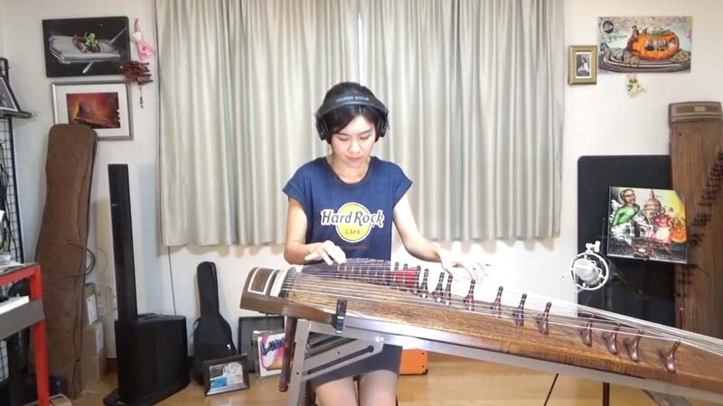 "Watch Her ""The Great Gig In The Sky"" Gayageum Cover – It Is Amazing And Completely Different"