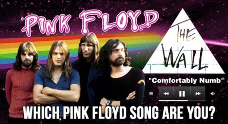 Pink Floyd Quiz: Which Pink Floyd Song Are You?