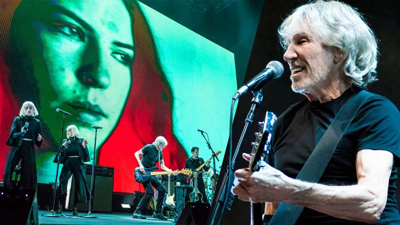 "Watch 10 New Amazing Live Performance Videos From Roger Waters' Latest ″Us + Them"" Show (Staples Center, Los Angeles)"