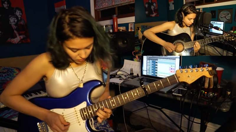 """Watch Pink Floyd's """"MONEY"""" Cover by Alexa Melo – It's Just Too Good For Words!"""