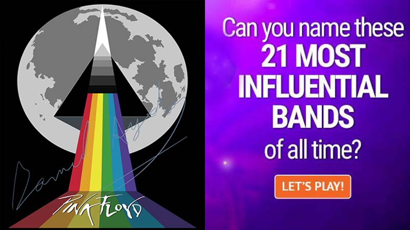 QUIZ: Can You Name These 21 Most Influential Bands Of All Time?