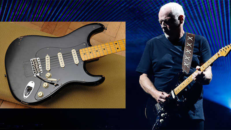 David Gilmour Auctioning 120 Guitars, Including His Fabled Black Strat, for Charity