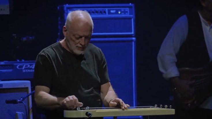 Watch: David Gilmour Plays Slide Guitar Solo of Mick Fleetwood's Albatros